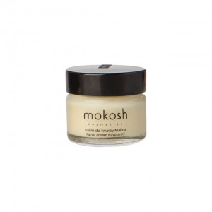 Mokosh - Regenerujący krem do twarzy anti-pollution Malina MINI 15 ml