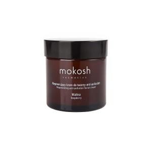 Mokosh - Regenerujący krem do twarzy anti-pollution Malina 60 ml