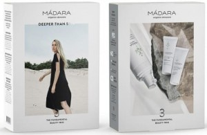 Mádara - Zestaw Become Organic Fundamental Beauty Trio, 150 ml 2x 25 ml